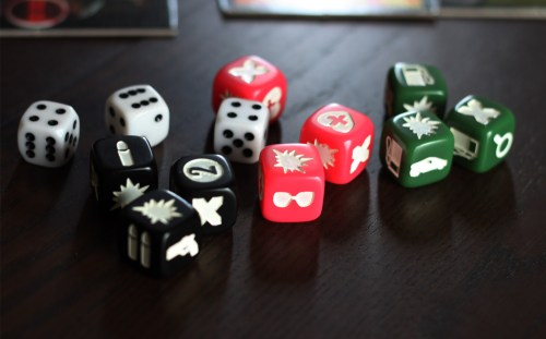 A fistful of dice!