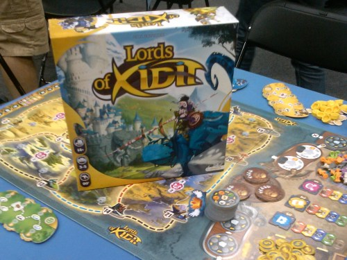 Gen Con 2014 Andrew - Lords of Xidit