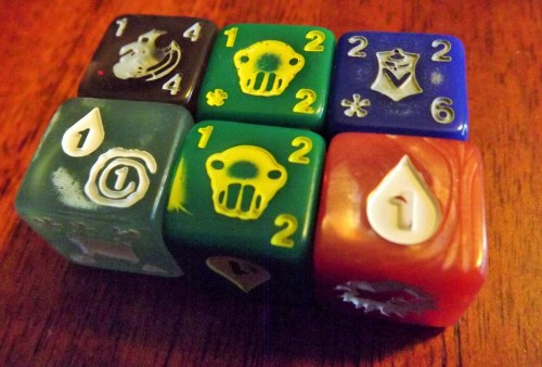 Quarriors! Bad Dice