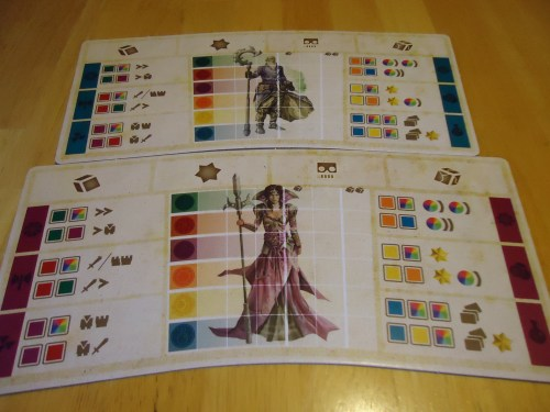 Hyperborea Player Boards