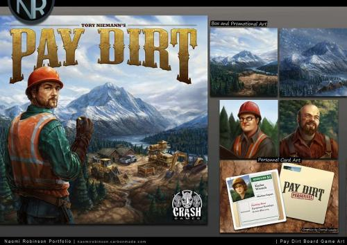 Pay Dirt portfolio; from Crash Games.