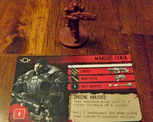 Gears of War Marcus