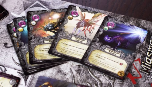 Miasma... these are bad cards that get forcibly added to your deck.