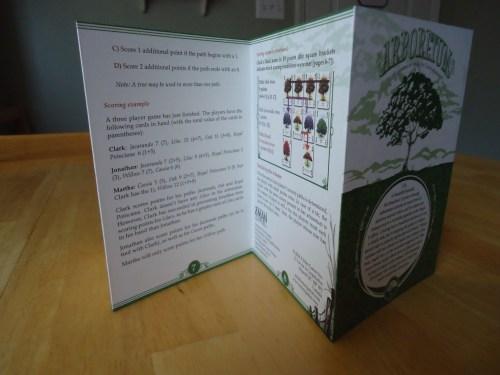 Arboretum - Rule Book