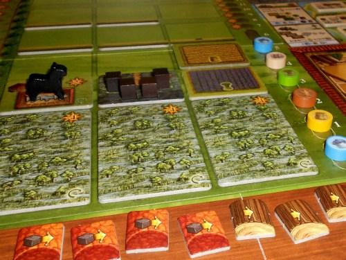 Fields of Arle - Player Board