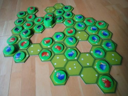 Battle Sheep Game In Progress