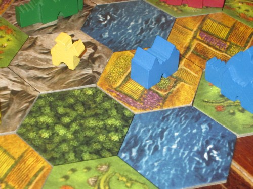 Strongholds can impede opponents' movements. But be careful: you've only got two you can build in the game.