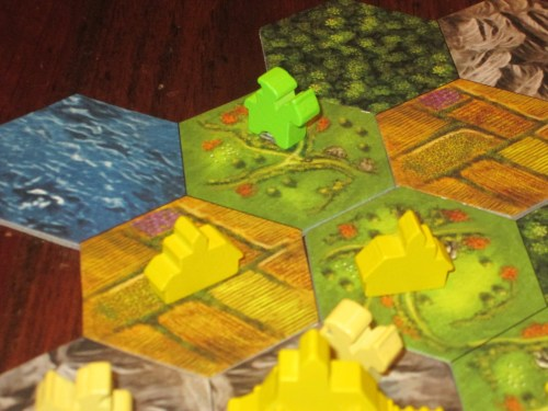 The expedition action--because it involves permanently sacrificing a knight--isn't used all that often, but it can be a crucial way to get on another part of the board.