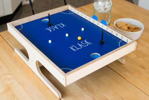KLASK and chips