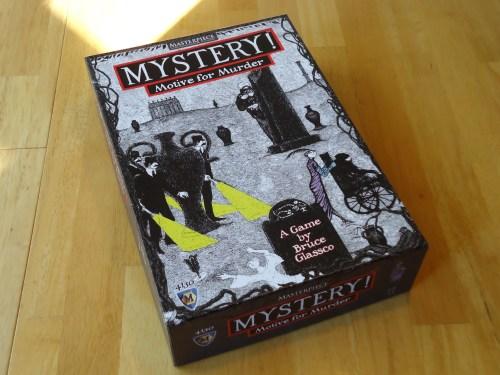 Mystery! Motive for Murder: Box