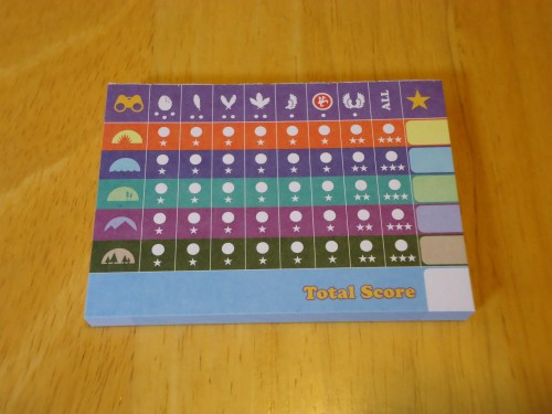 Birds of a Feather Score Pad