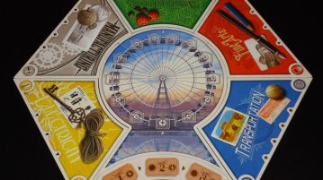 World's Fair 1893 - Board