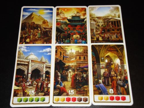 Century Spice Road - Scoring Cards
