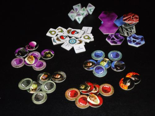 Incantris - Tokens & Dice