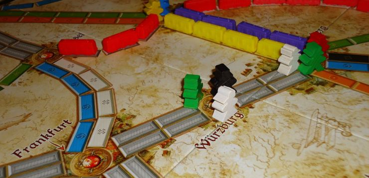 Ticket to Ride Germany - Feature
