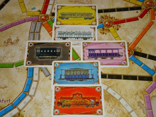 Ticket to Ride Germany - Cards