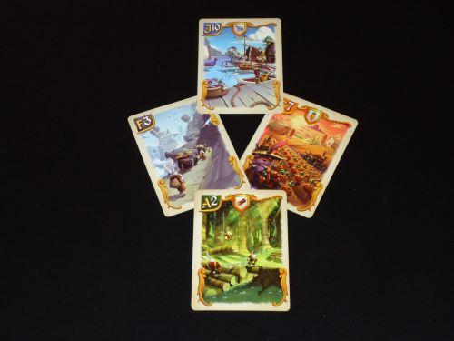Bunny Kingdom: Territory Cards