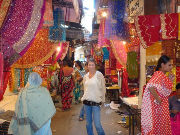 Fabric Shopping, Jaipur, India