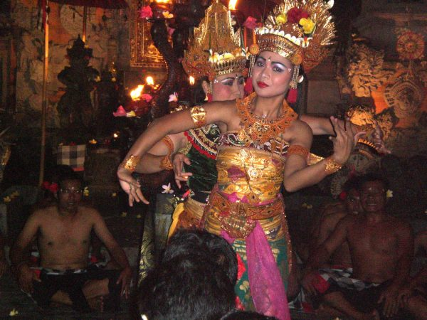 Traditional Balinese Kecak Dance, Bali, Indonesia