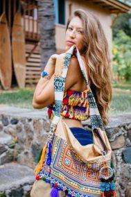 laos thailand burma hill tribe textile bags