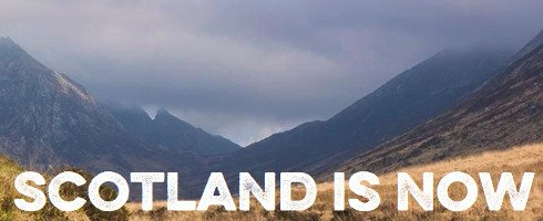 Scotland is now