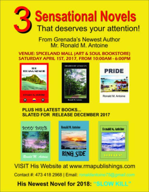 Ronald Antoine Book Release