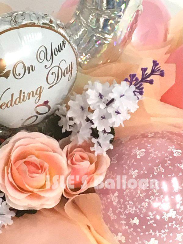 結婚祝いバルーンアレンジメント