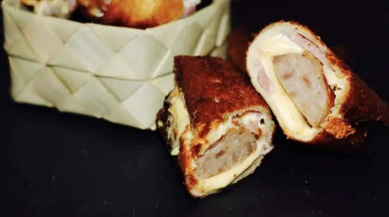 Sausage & Bacon Rolls