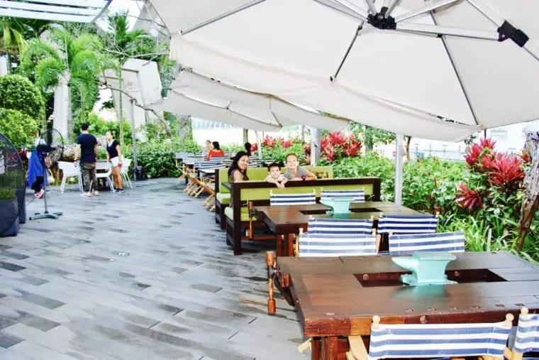 Kontiki Restaurant, Passion Wave @ Marina Bay