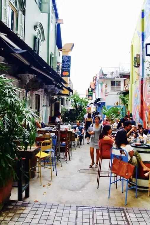 Blu Jaz Cafe @ Bali Lane