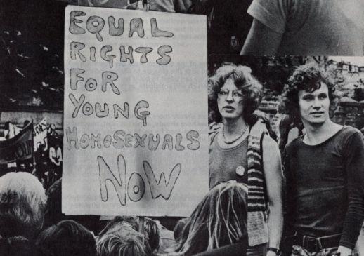 Picture of Highbury Fields demo 1971, Islington Local History Centre