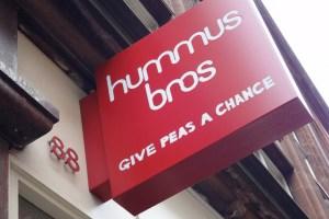 Hummus Bros pass Islington Now's taste test! Image: Mundo Resink