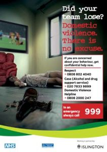 Domestic violence Image: Islington Council
