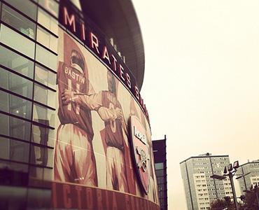 Emirate's stadium. Image: Henry Kirby