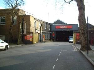 Holloway Metrolines Bus Garage