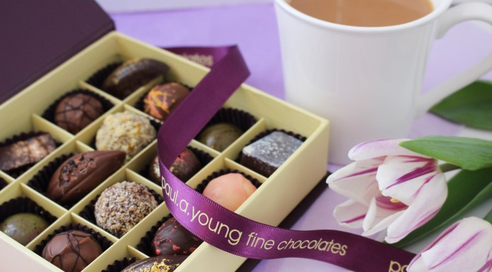 Paul A Young's yummy Fine Chocolates for Mummy