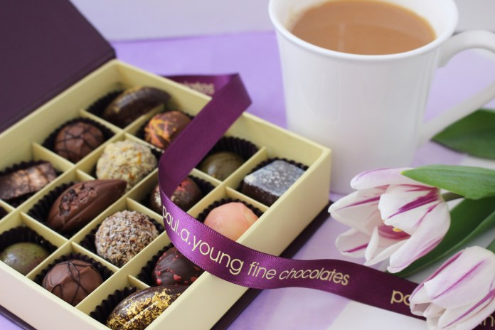 Paul A Young's yummy Fine Chocolates for Mother's Day