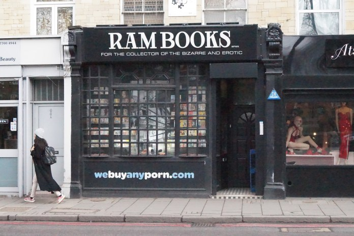 Ram Books, Holloway Road
