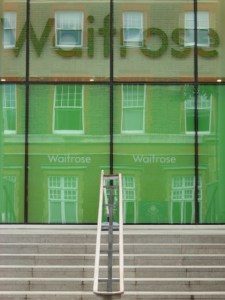 Free coffee at Waitrose, Islington