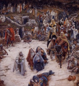 What Our Saviour Saw from the Cross by James Tissot (c 1890)