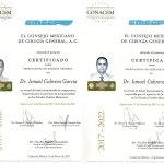 Dr. Ismael Cabrera CNACEM Certification