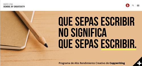 programa barcelona copywriting