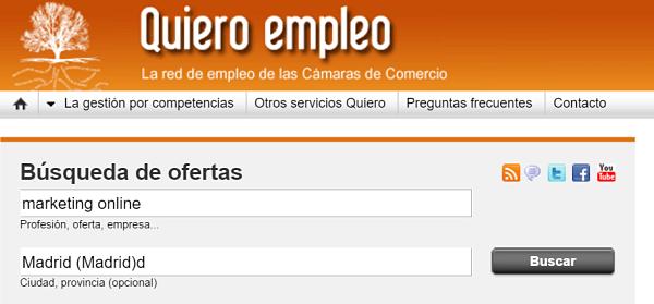quiero empleo busqueda trabajo