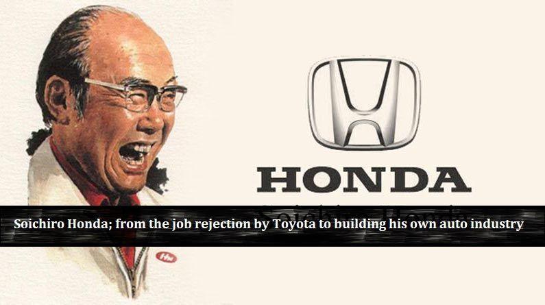Soichiro Honda, uno de los emprendedores famosos más ricos del mundo