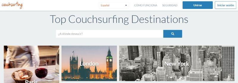 couchsurfing viajar y conocer gente