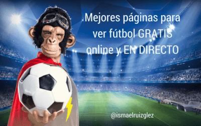¡Disfruta del Fútbol Online GRATIS! ⚽ +35 Páginas para verlo ¡EN DIRECTO!