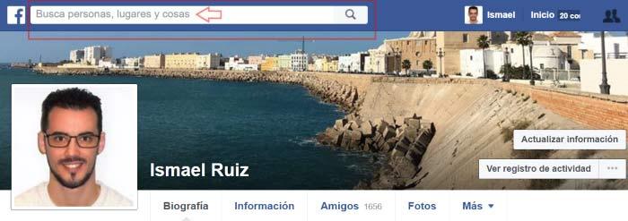 buscar contactos y amigos en facebook
