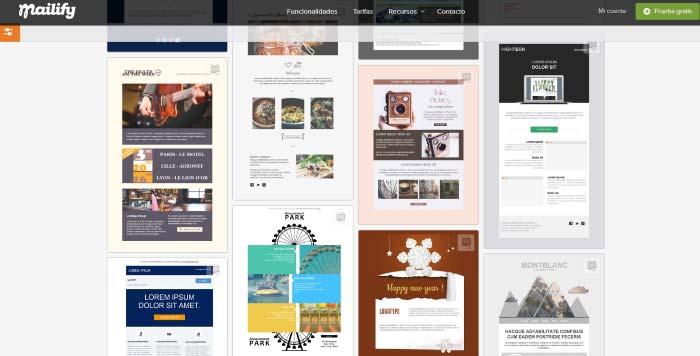 plantillas de newsletter para hacer email marketing