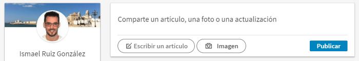 Escribir un artículo en LinkedIn Pulse