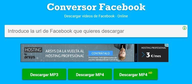 pagina-bajar-video-facebook